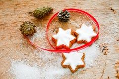 Biscuits de Noël photographie stock libre de droits