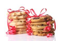 Biscuits de Noël Photographie stock