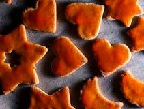 Biscuits de Noël Images stock
