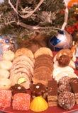 Biscuits 4 de Noël photos libres de droits