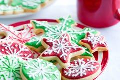 Biscuits de Noël image libre de droits