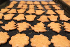 Biscuits de Noël Photos libres de droits