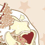 Biscuits de Noël illustration de vecteur