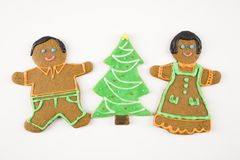 Biscuits de Noël. images stock