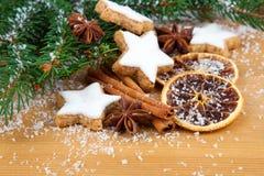 Biscuits de Noël Photos stock