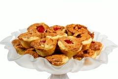 Biscuits de Noël de Fussies Images stock