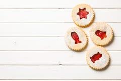 Biscuits de Noël de gelée photo stock