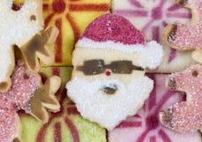Biscuits de Noël pour la saison Images libres de droits