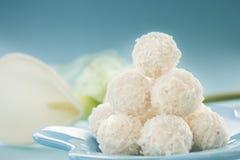 Biscuits de noix de coco photos stock