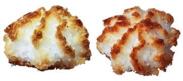 Biscuits de noix de coco Images stock