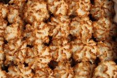 Biscuits de noix de coco de Rocher Photographie stock