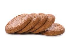 Biscuits de noix de gingembre Photo stock