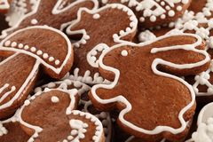 Biscuits de Pâques Images libres de droits