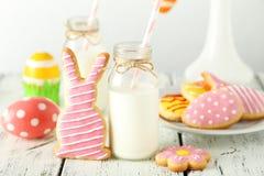 Biscuits de Pâques photographie stock