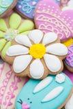 Biscuits de Pâques Photographie stock libre de droits