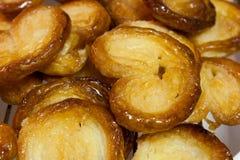 Biscuits de pâte feuilletée Photo libre de droits