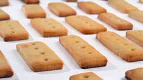Biscuits de pâtisserie Photographie stock
