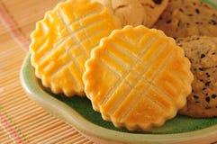 Biscuits de pâtisserie image libre de droits