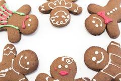 Biscuits de pain d'épice image stock