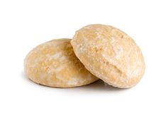 Biscuits de pain d'épice Image stock