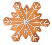 Biscuits de pain d'épice de Noël Photo libre de droits