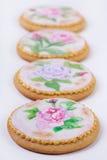 Biscuits de pain d'épice de vintage Photographie stock libre de droits