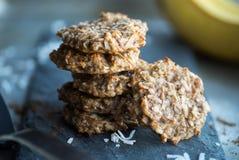 Biscuits de Paleo de banane Image stock
