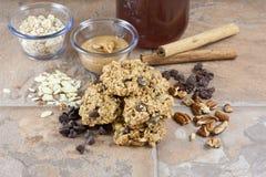 Biscuits de petit déjeuner Image libre de droits
