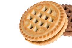 biscuits de plan rapproché Photos stock