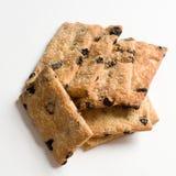biscuits de plan rapproché d'isolement photos libres de droits