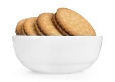 Biscuits de plat photographie stock libre de droits