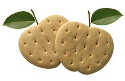 biscuits de pomme Photographie stock