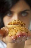 Biscuits de portion ! photos libres de droits