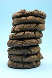 Biscuits de puce de Choc photographie stock libre de droits