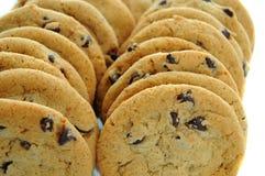 Biscuits de puce de chocolat Photo libre de droits