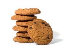 Biscuits de puce de chocolat 3 Images libres de droits