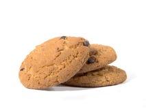 Biscuits de puce de chocolat 5 Photo stock