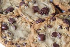 Biscuits de puce de chocolat de Tollhouse Image libre de droits