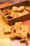 Biscuits de renne images stock