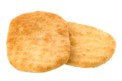 Biscuits de riz images stock
