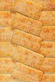 Biscuits de sésame Photo libre de droits