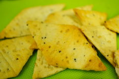 Biscuits de sésame Image stock
