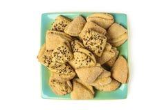 Biscuits de s?same photo stock