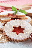 Biscuits de sablé Photo stock