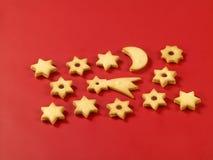 Biscuits de sablé Images stock