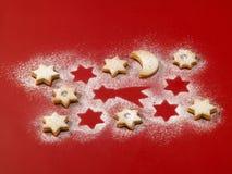 Biscuits de sablé Images libres de droits