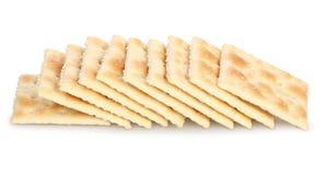 Biscuits de Saltine Photographie stock
