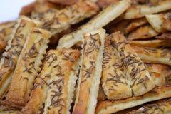 Biscuits de sel Photographie stock libre de droits