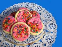Biscuits de sucre Images libres de droits