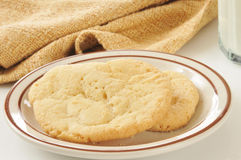 Biscuits de sucre photo libre de droits
